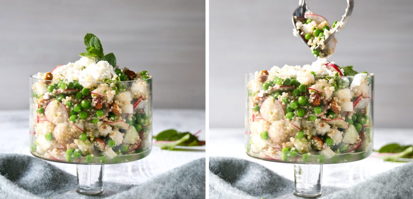 Bunter Quinoa-Salat – Fit für den Frühling