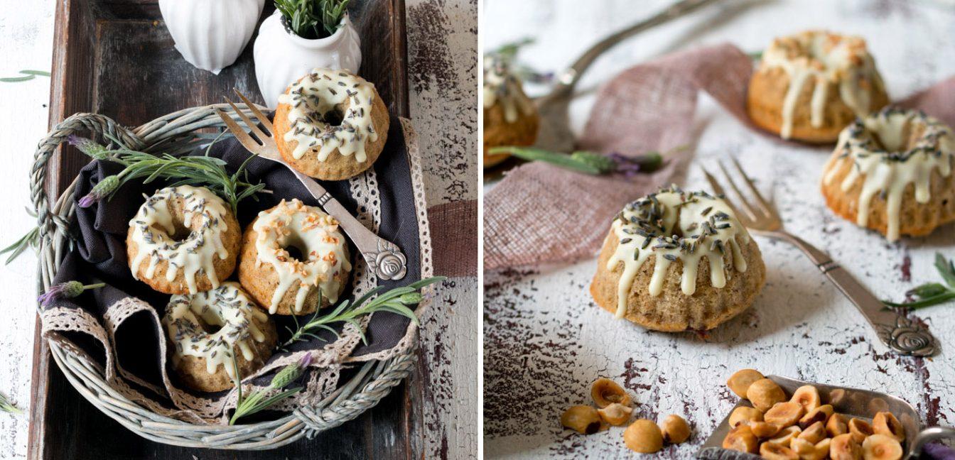 Haselnuss-Lavendel-Küchlein – ein Tagtraum von der Provence.