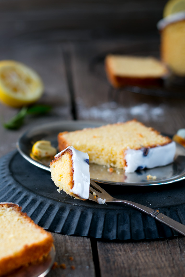 zitronen pound cake