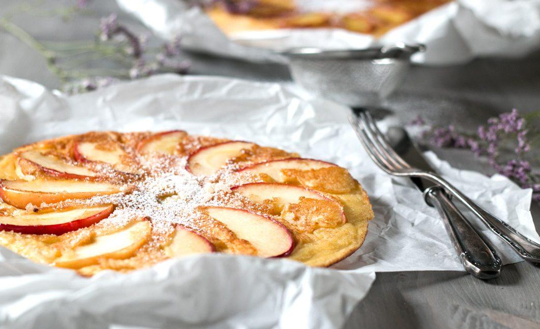 dicker apfelpfannkuchen