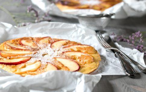 Apfelpfannkuchen zum Muttertag.