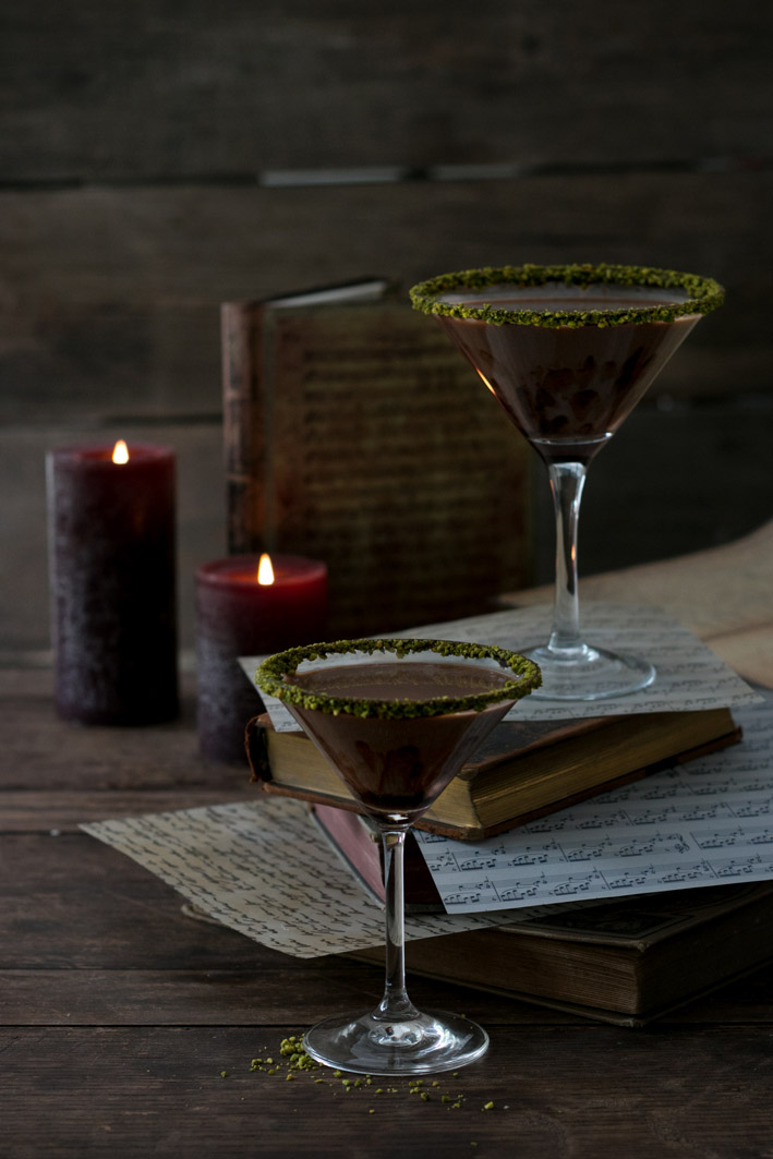 chocolate martini drink