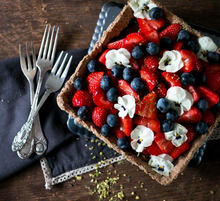 Sommerrezepte: Erdbeertarte – mit dem besten Tarteboden.