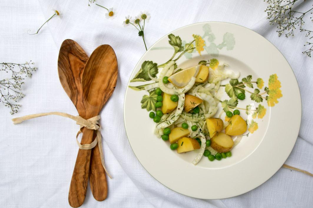 schwedischer kartoffelsalat erbsen