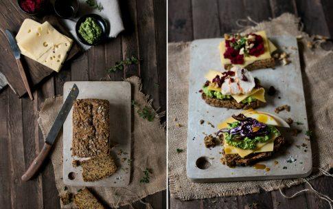 Quinoa-Hirse-Brot – ein Brot, drei Ideen!