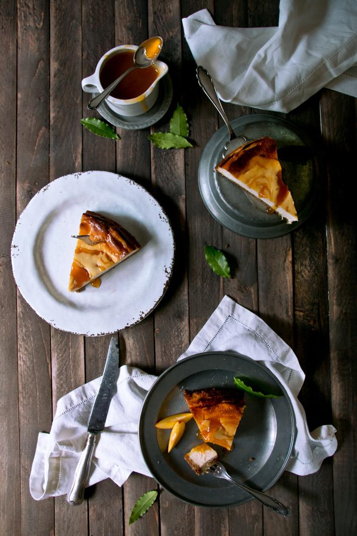 cheesecake aprikosen sauce