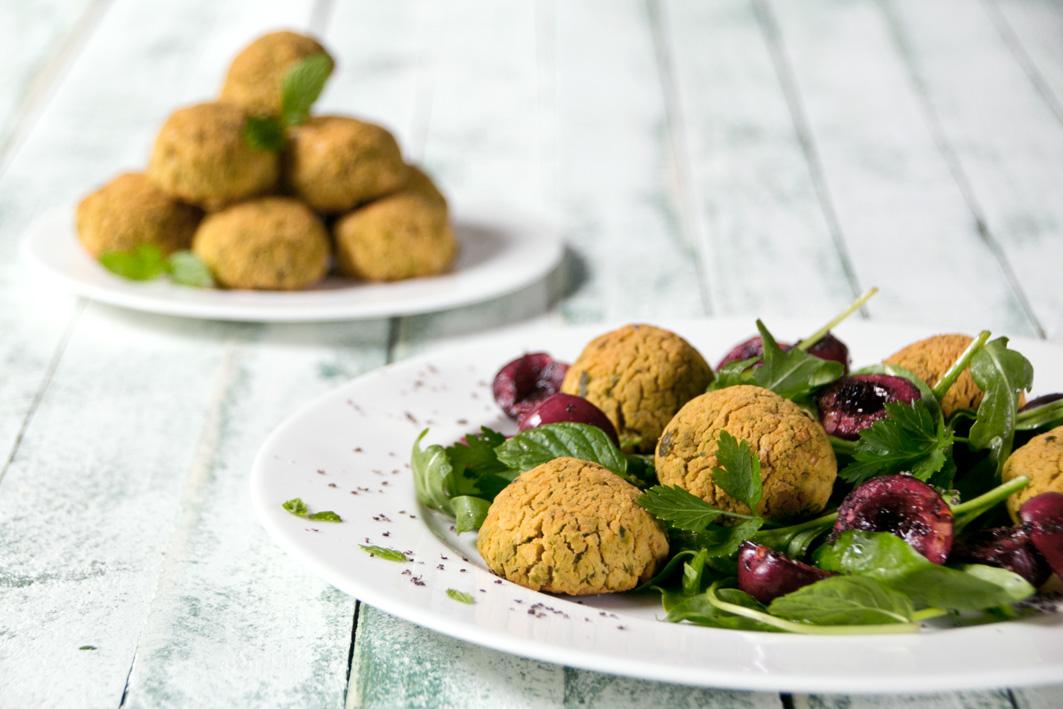 falafel mit pistazien
