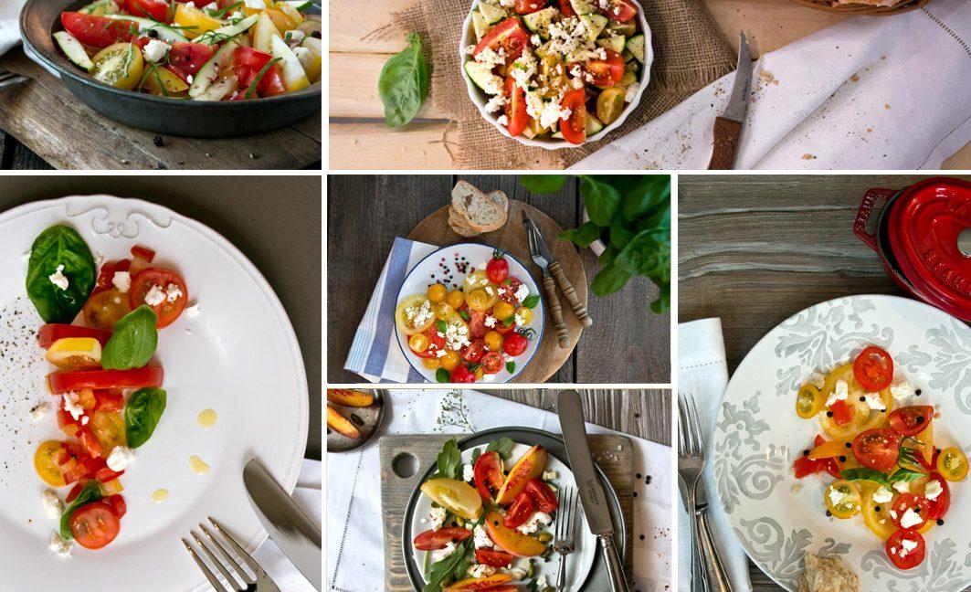 Foodstyling Workshop in Düsseldorf. Mach mir einen Tomatensalat!