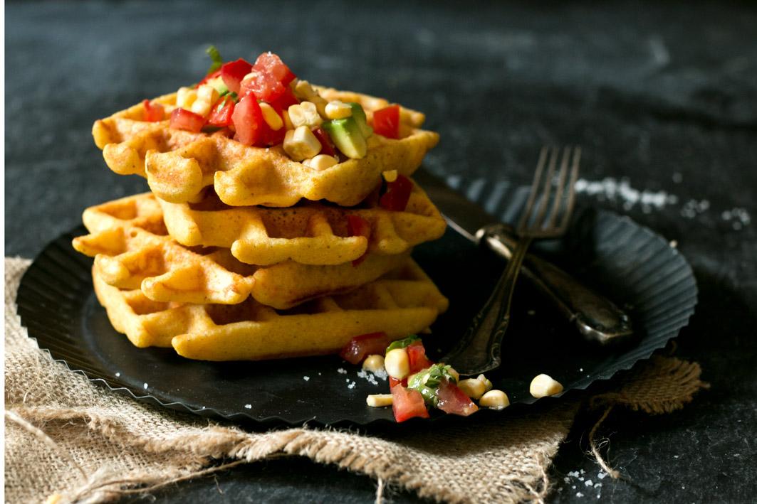 polenta waffeln glutenfrei