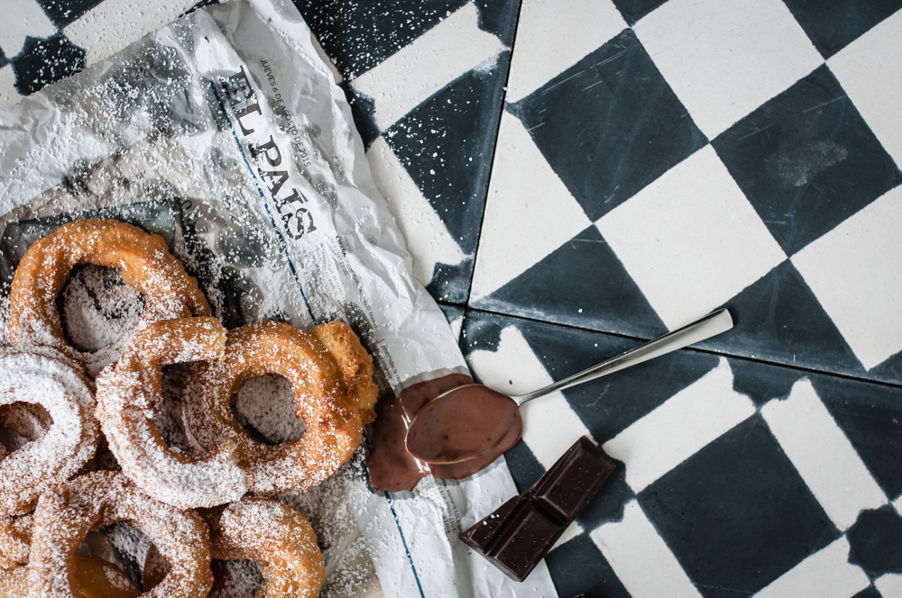 trickytine für foodlovin churros