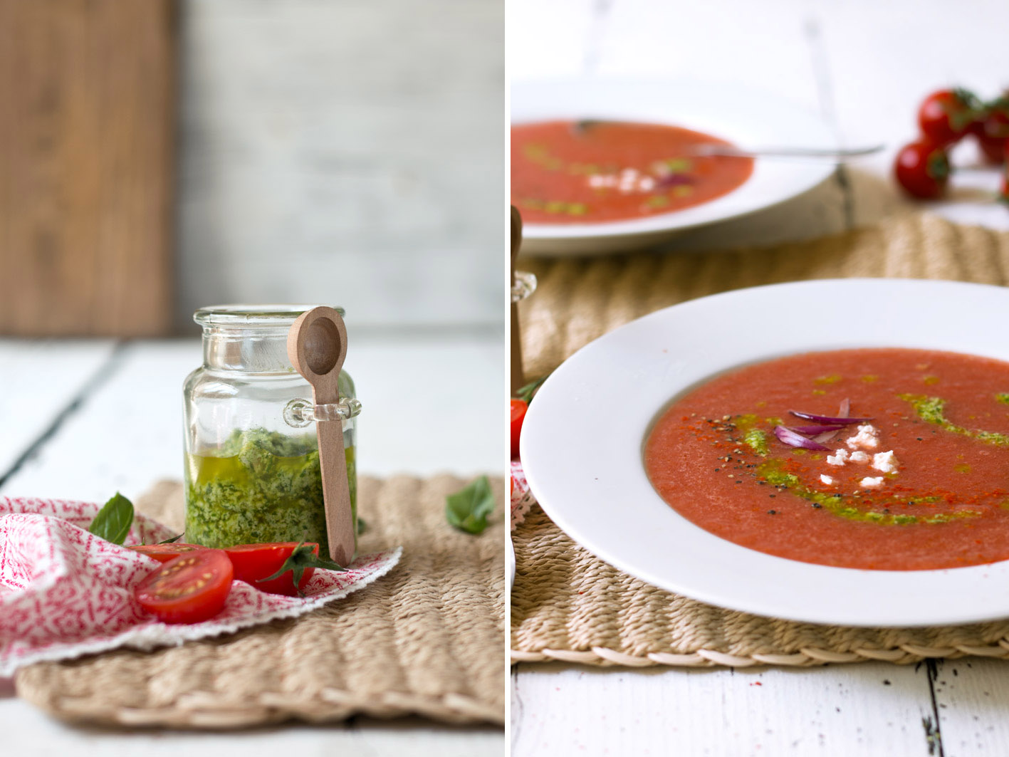 wassermelonen gazpacho