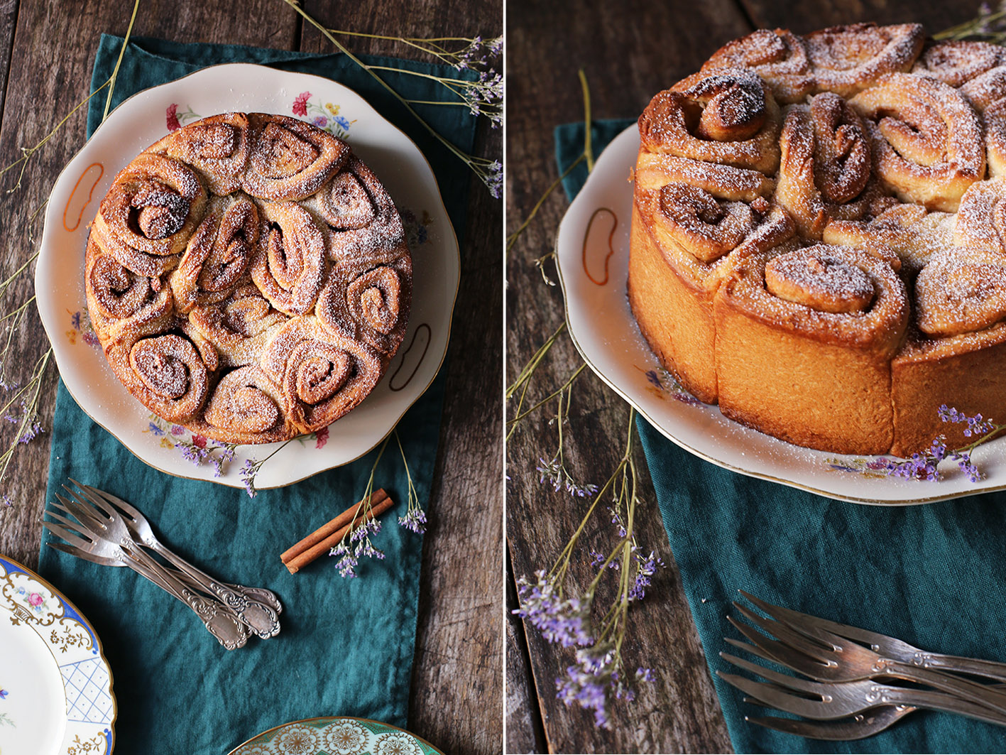 schwedischer zimtschnecken kuchen