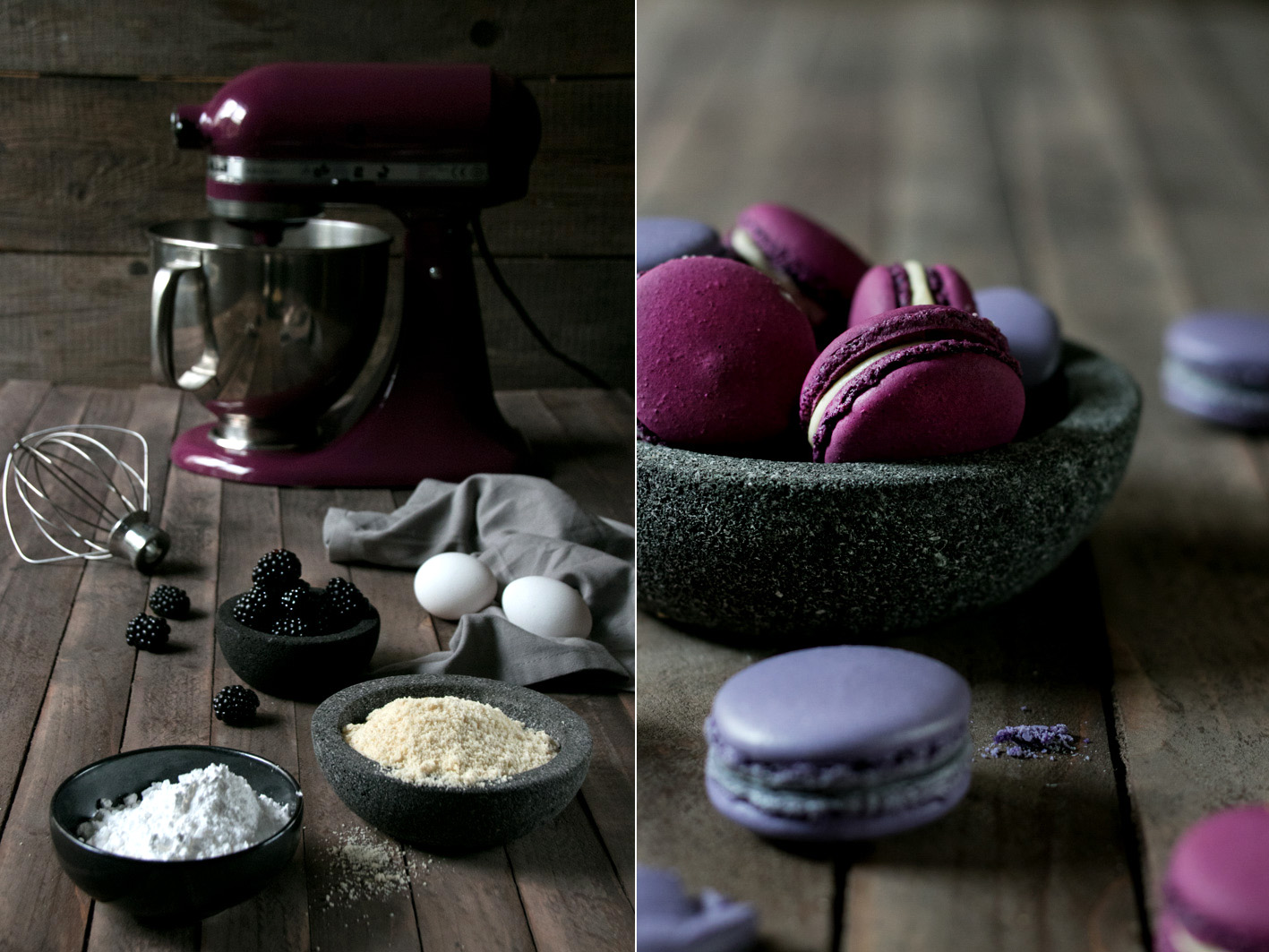 macarons kitchen aid