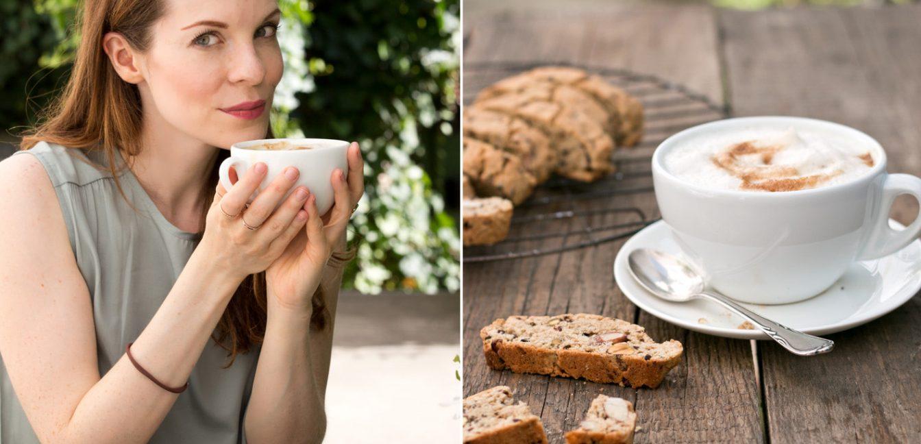 But first…Coffee! Mein Kaffeemoment mit köstlichen Biscotti und Senseo.