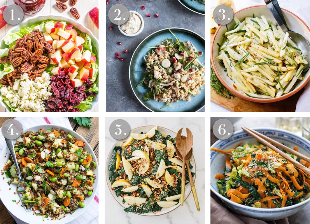 Salate für den herbst