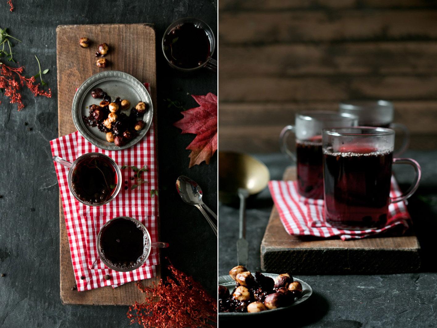 granatapfel cranberry punsch