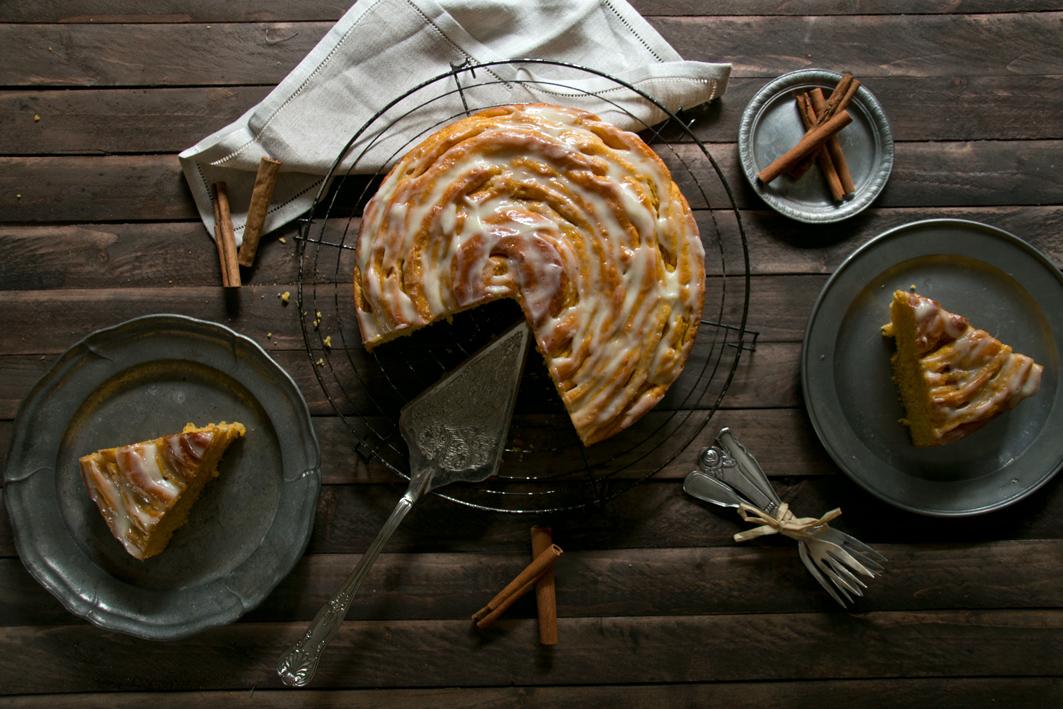 kuerbisschnecke kuchen