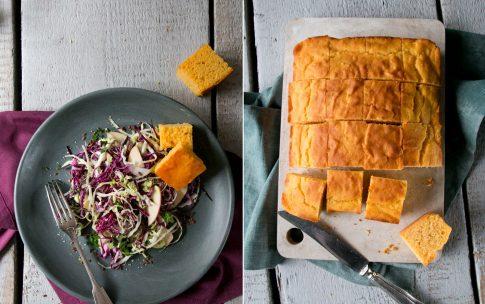 Krautsalat mit Süßkartoffelbrot – Esst mehr Kohl!