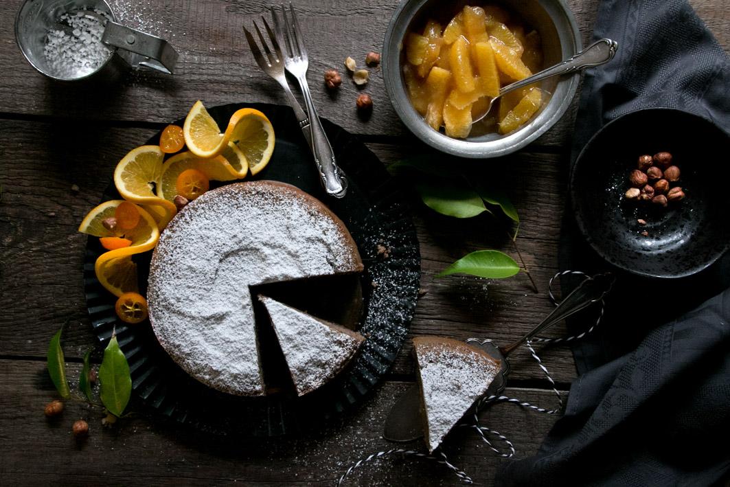kastanien haselnuss kuchen