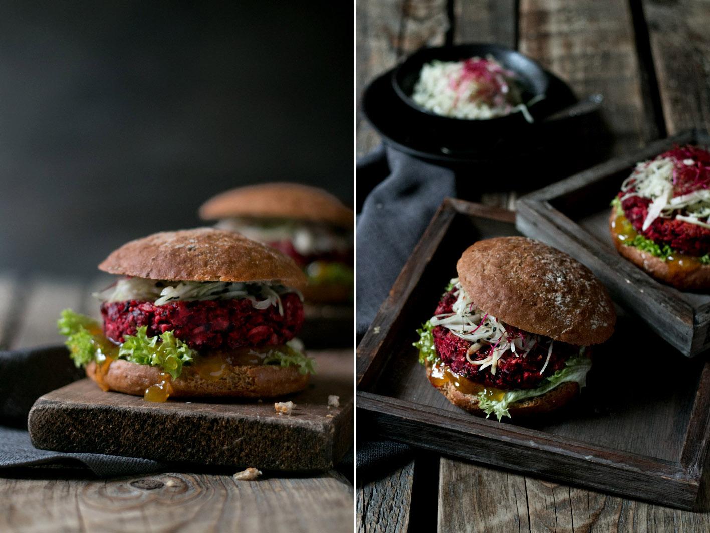 rote bete burger