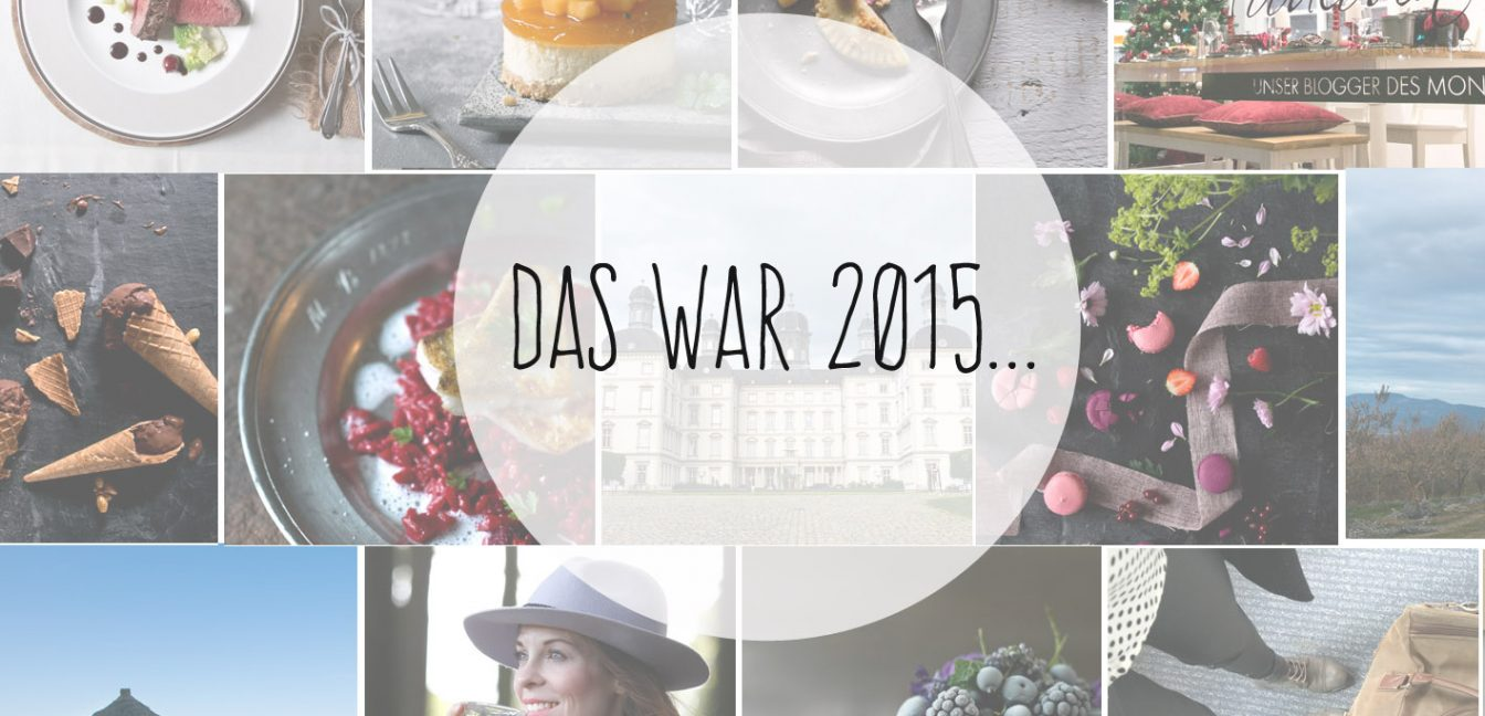 Jahresrückblick – Das war 2015 auf Foodlovin'.