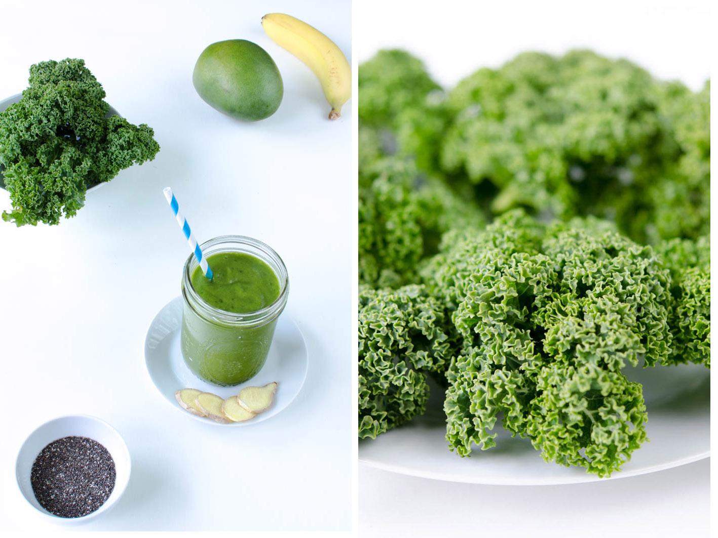 gruene-smoothies-gruenkohl
