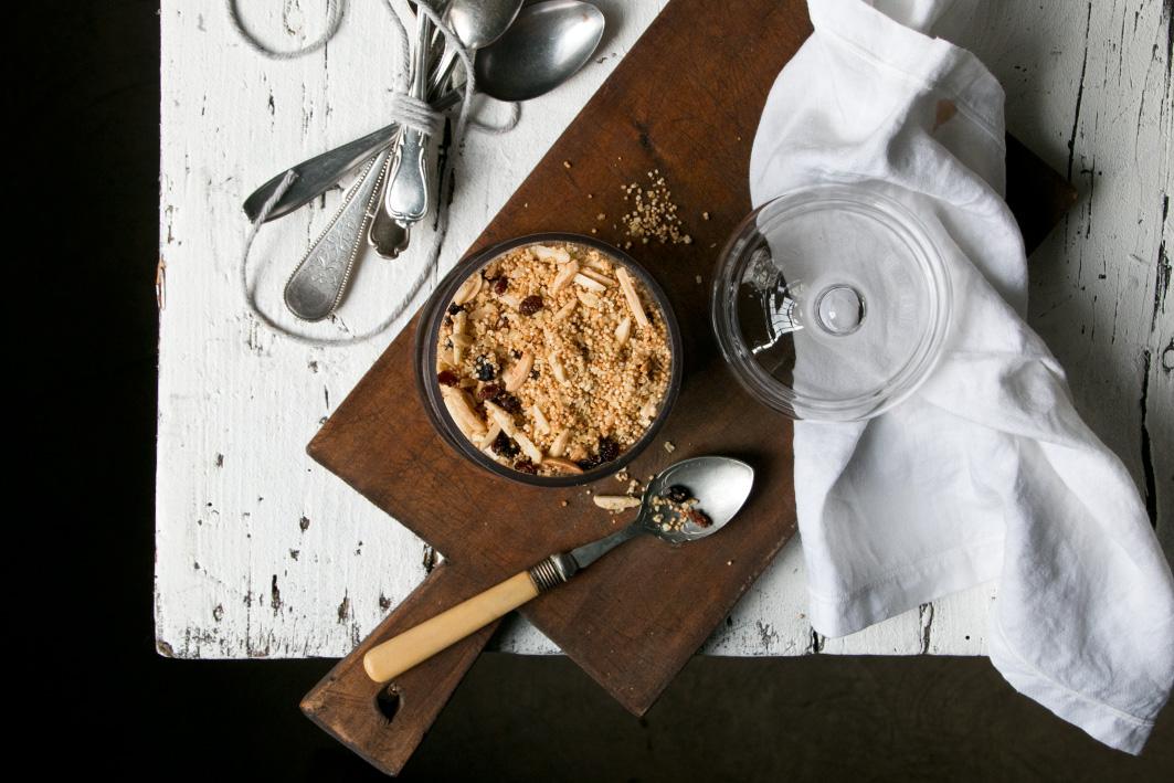 selbst gemachter amaranth muesli