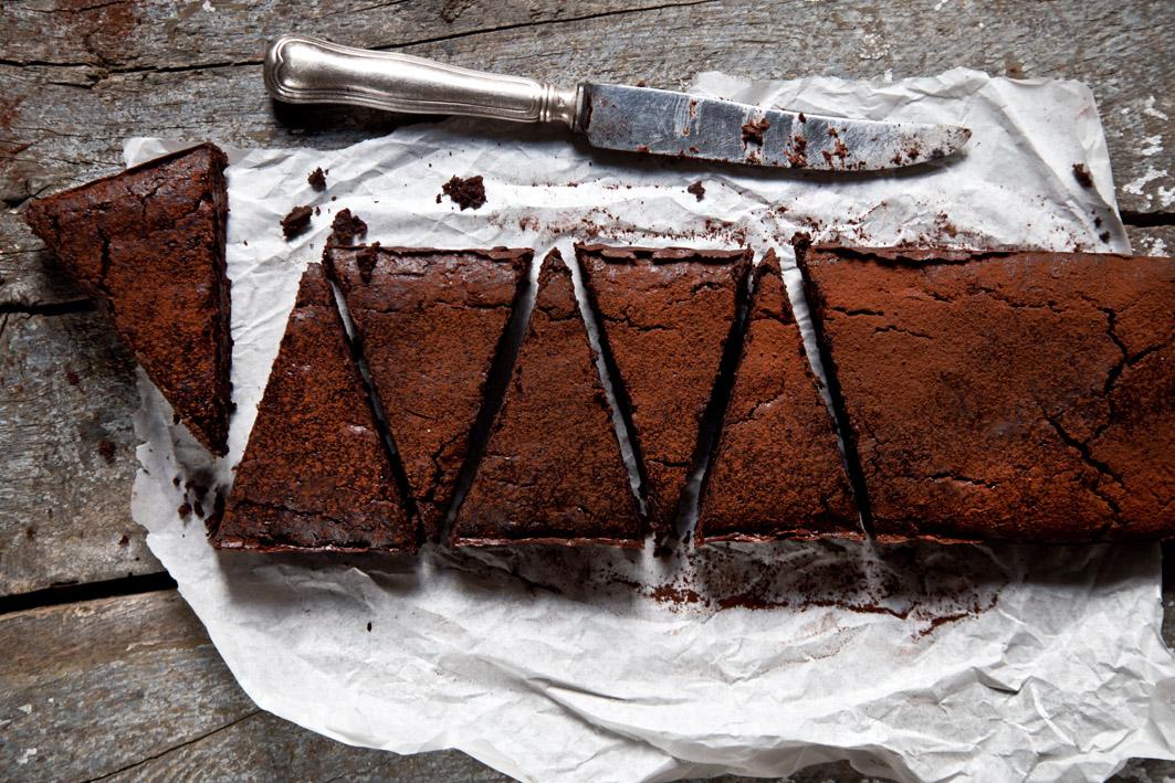 gesunder brownie mit geheimzutat
