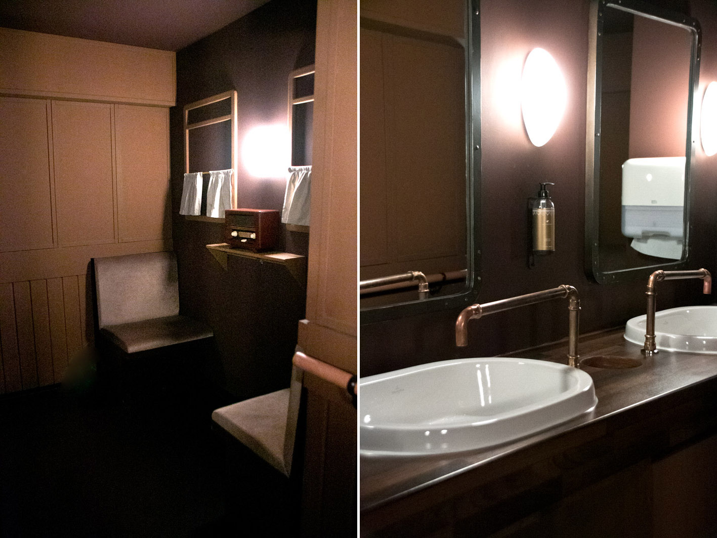 orient express toilette