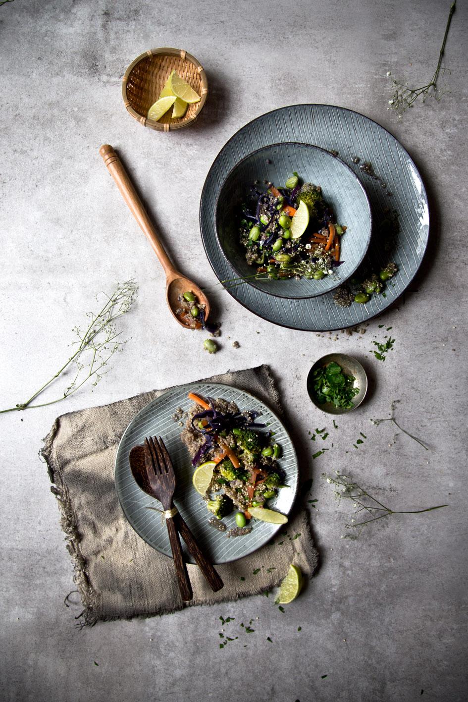 quinoa gemuese pfanne