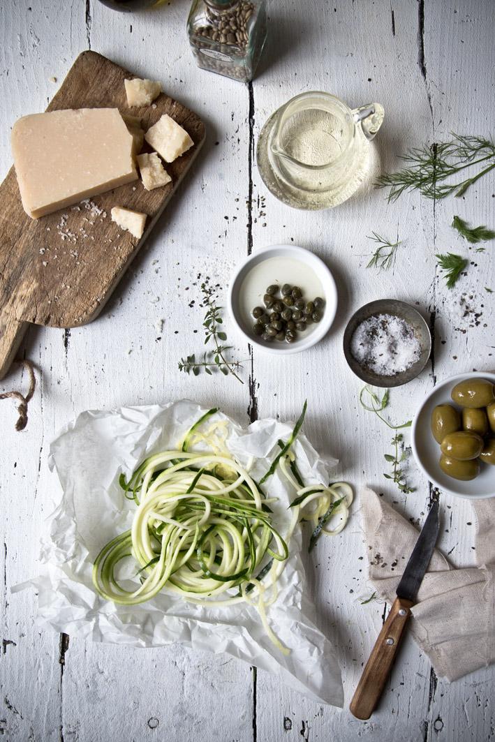 rohe zucchini pasta