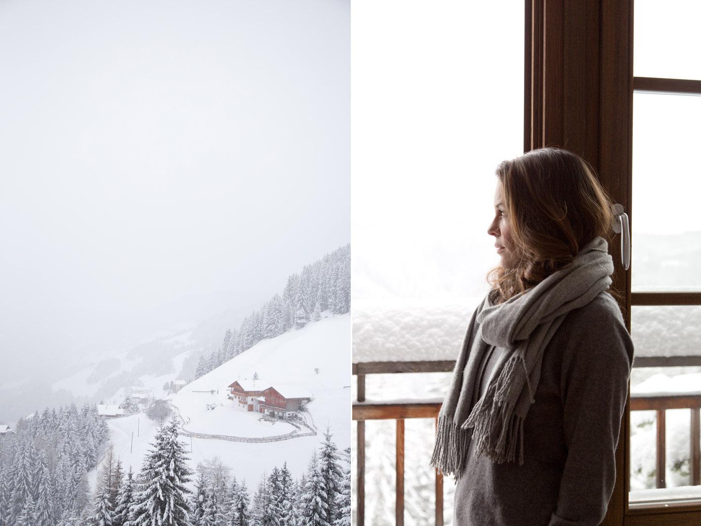 denise im schnee