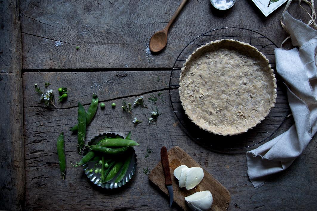glutenfreier quiche boden