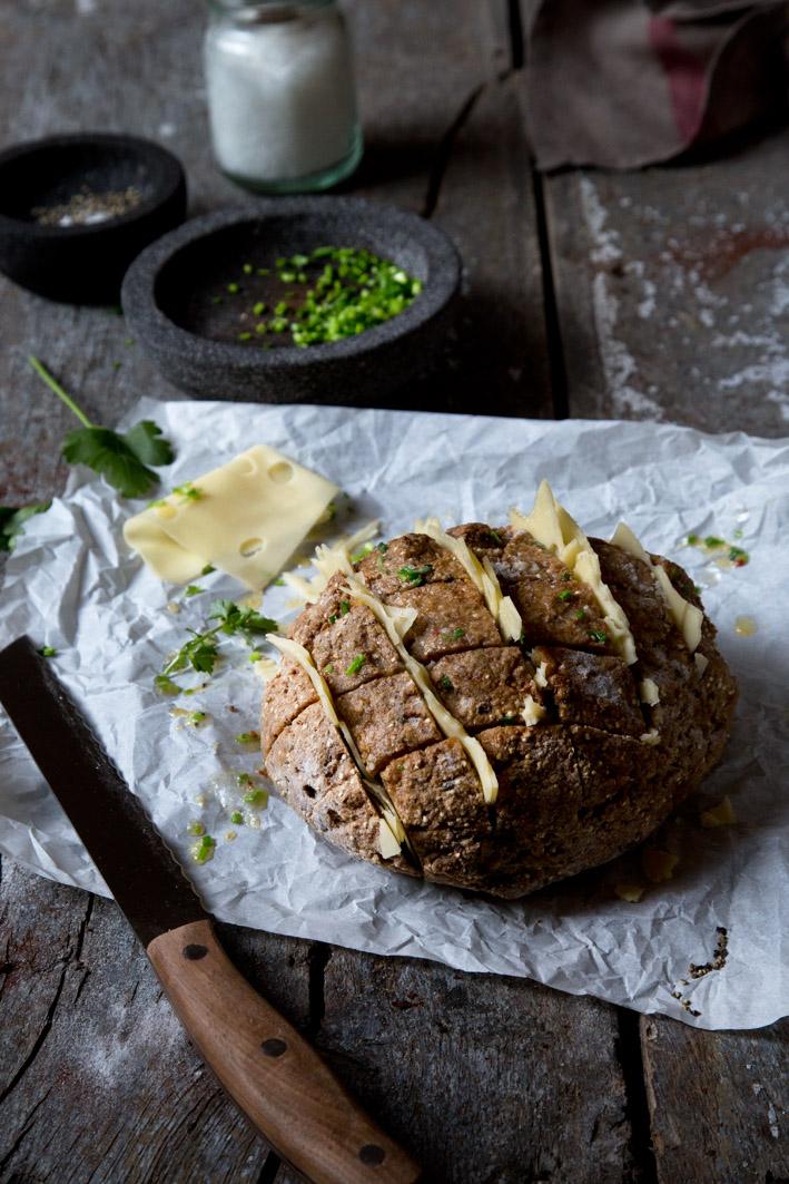 quinoa brot mit käse