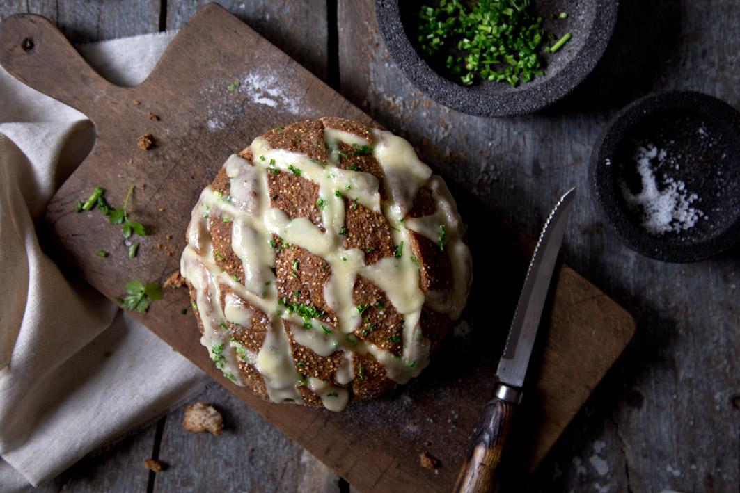 quinoa pull apart bread