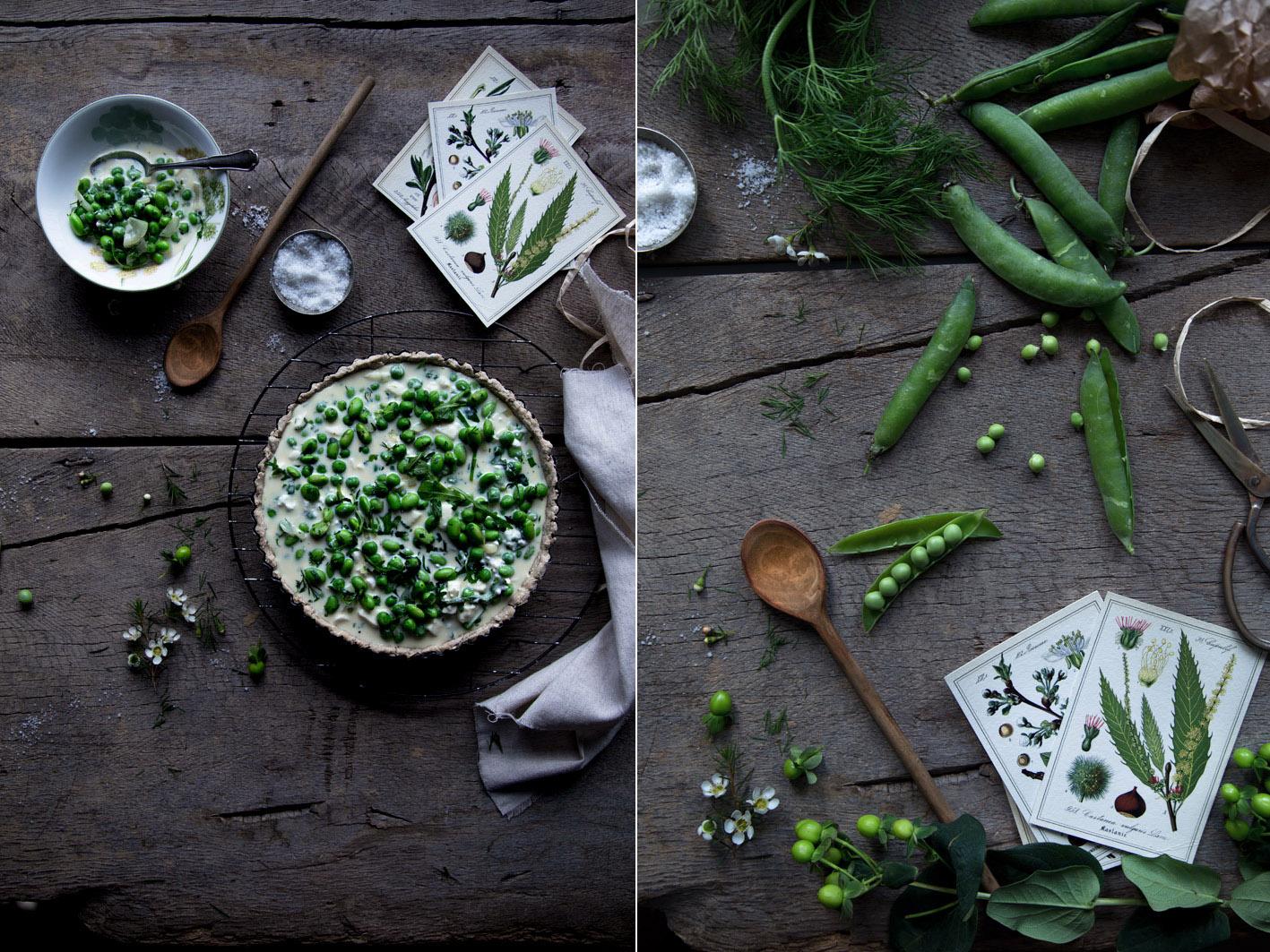 rezept quiche mit spinat
