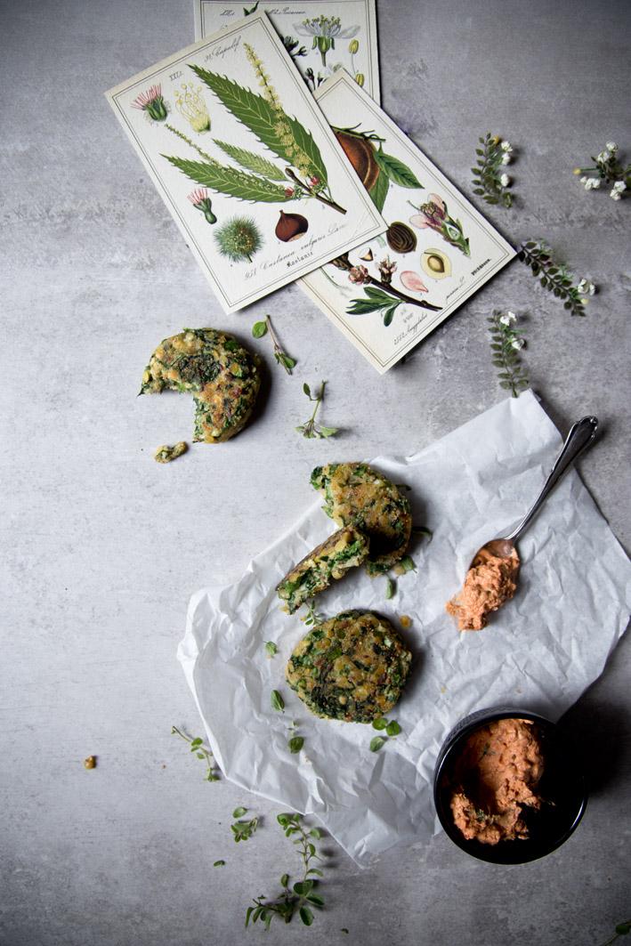 gesunde amaranth spinat kuechlein