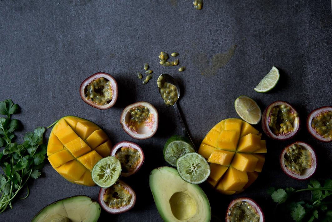 avocado mango koriander
