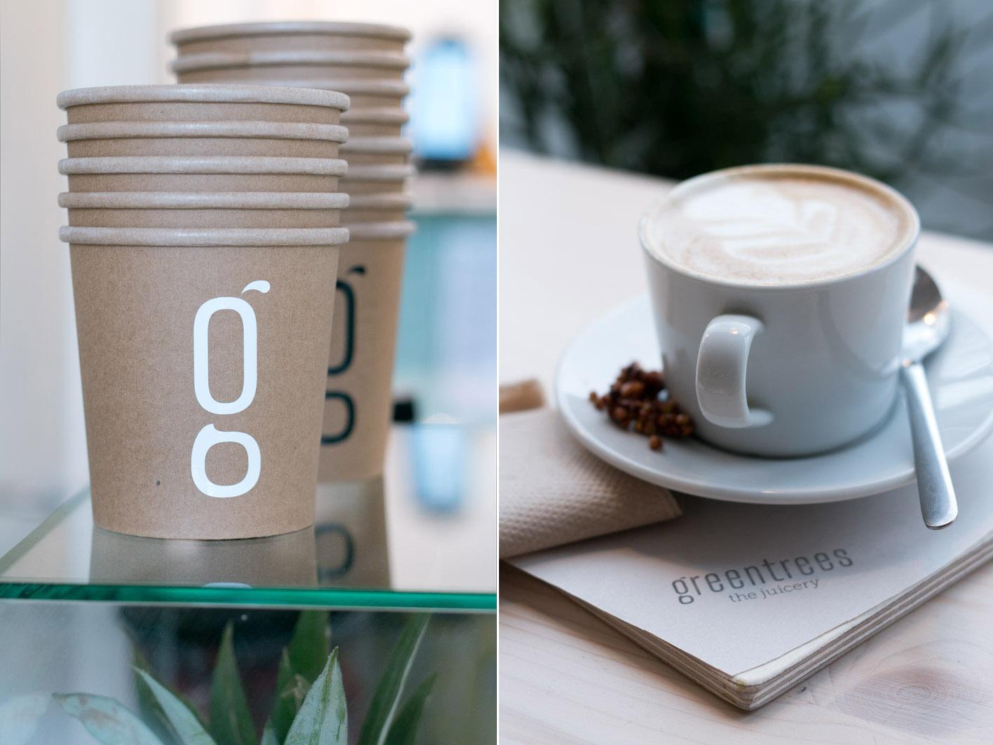 greentrees kaffee mandelmilch