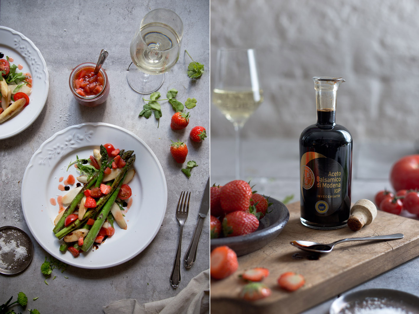 aceto balsamico spargelsalat