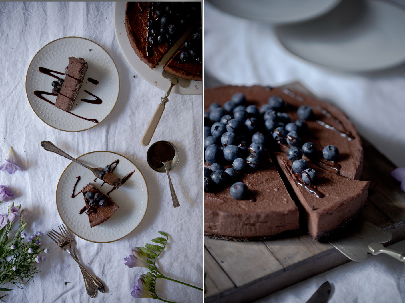 schokoladen cheesecake