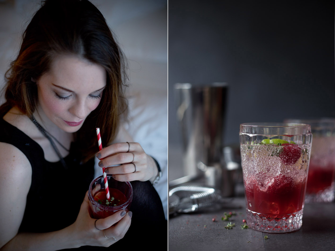 himbeer gin cocktail foodlovin