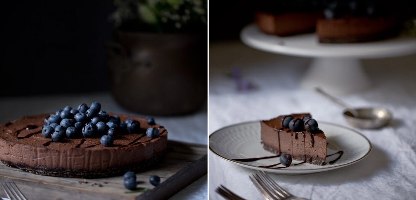 raw chocolate cheesecake foodlovin
