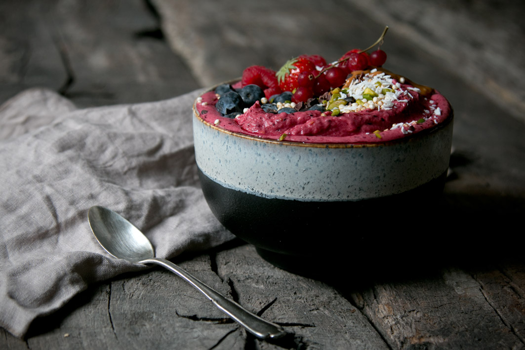 smoothie bowl rezept