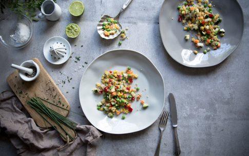 Konfettisalat mit Quinoa – ein Lieblingsrezept.