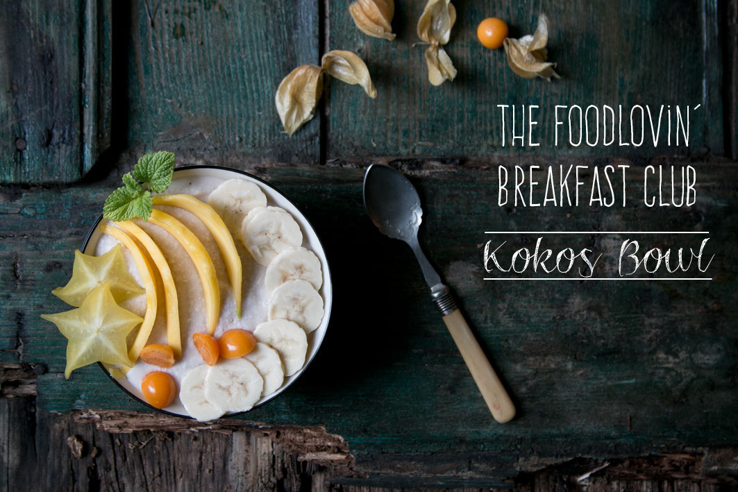 rezept kokos smoothie bowl