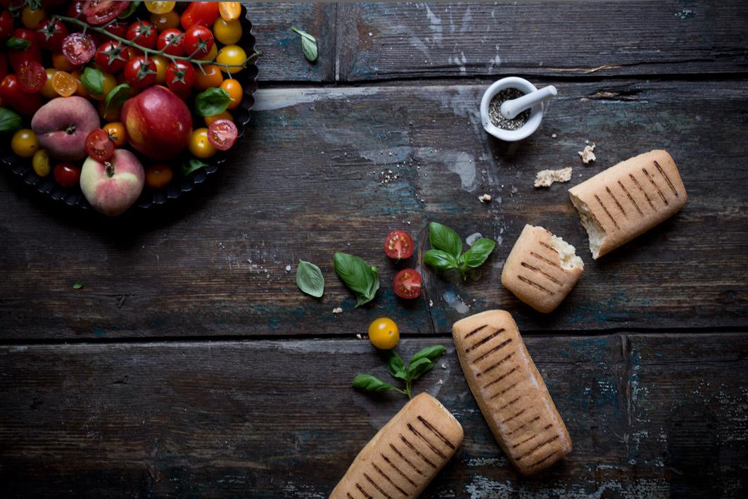 zutaten toskanischer brotsalat mit tomaten