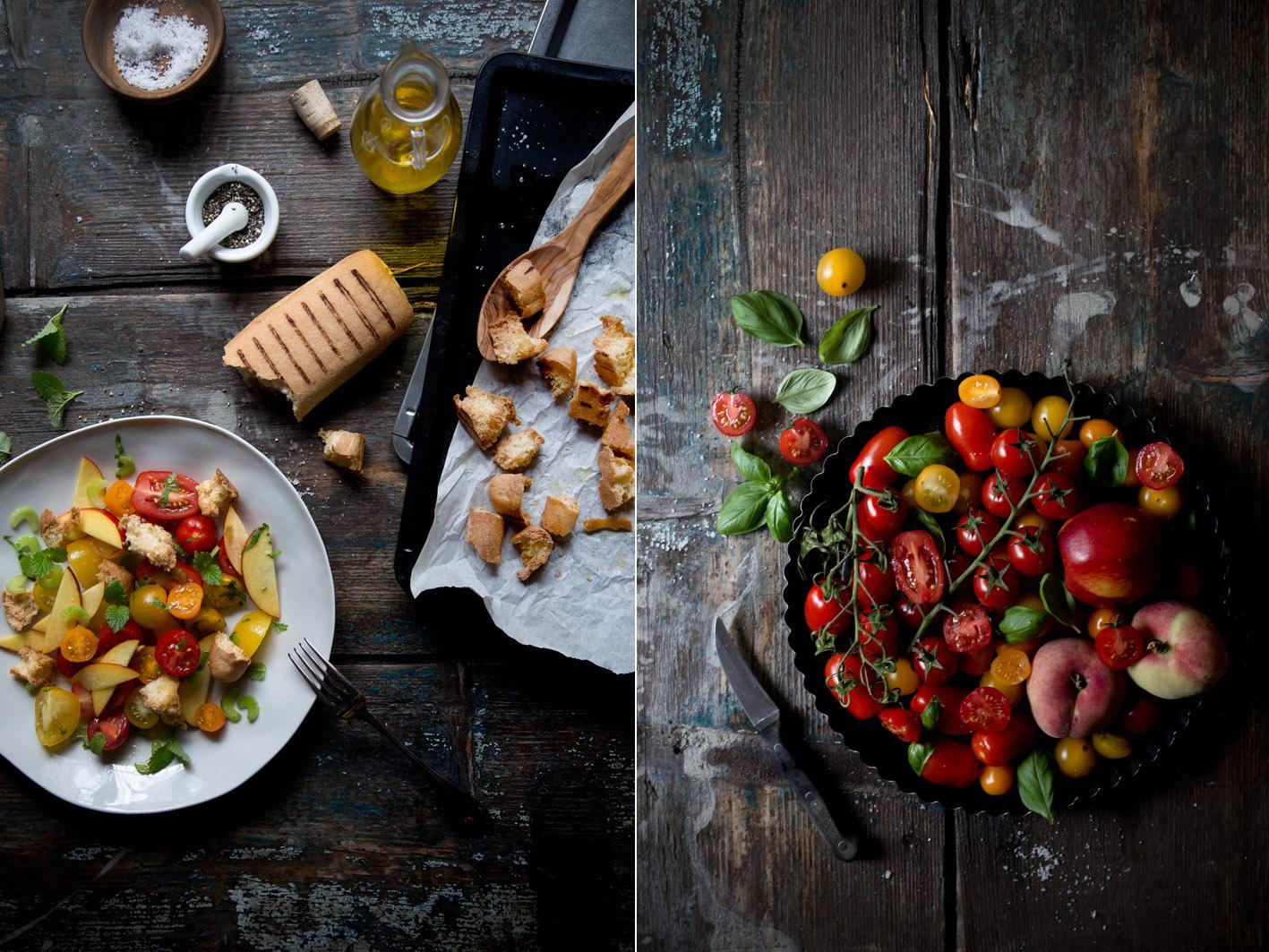 rezept für toskanischen brotsalat auf foodlovin
