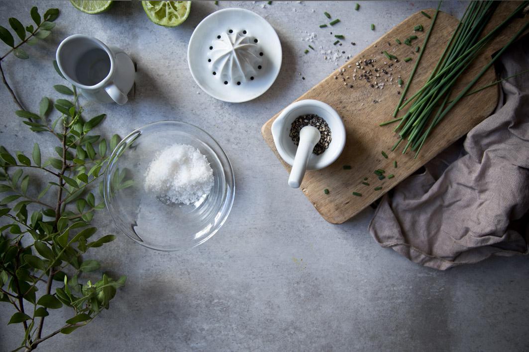 zutaten konfetti quinoa salat