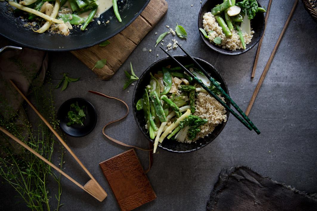 gruenes thai gemuese curry